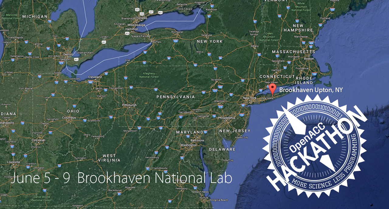 OpenACC Hackathon at Brookhaven National Lab in June