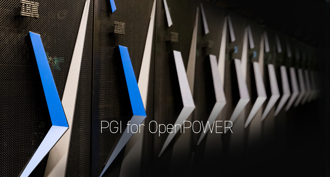 PGI on OpenPOWER